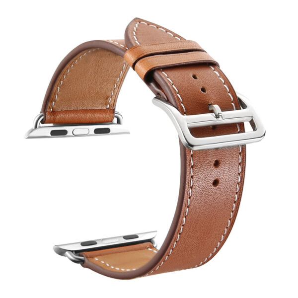 Leather 38MM 42MM Apple Watch Band For iWatch 1 2 3 AWB01_3
