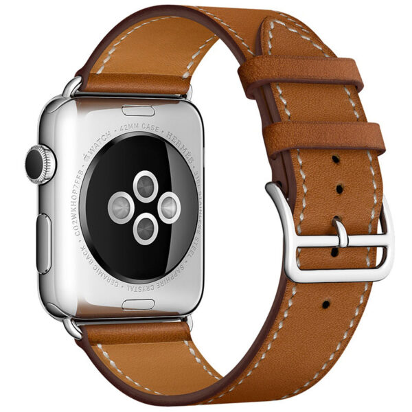 Leather 38MM 42MM Apple Watch Band For iWatch 1 2 3 AWB01_4
