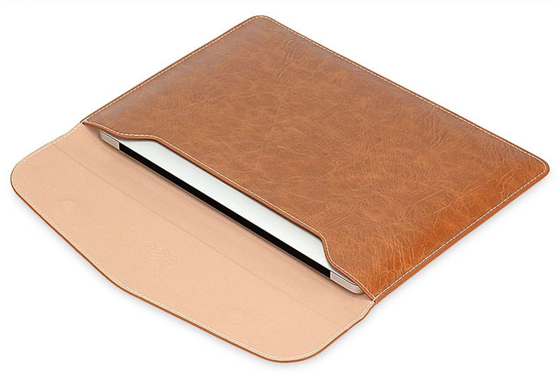Case Design phone case book : Cool Brown Pink Leather Bags Cases For 12 Inch Macbook MB1202_5