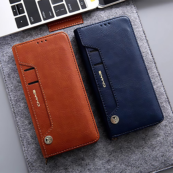 Leather Case With Card Holder For Samsung Galaxy S7 S6 Note 8 5 SG608