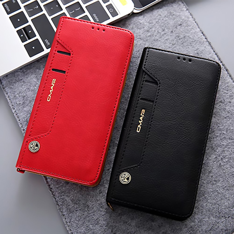 Leather Case With Card Holder For Samsung Galaxy S7 S6 Note 8 5 SG608_2