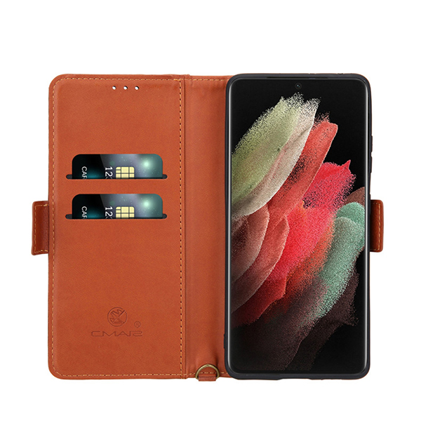 Leather Case With Card Holder For Samsung Galaxy S7 S6 Note 8 5 SG608_4