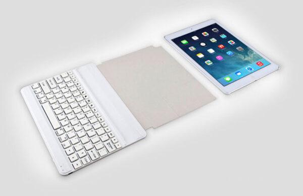 2019 Best Thin Comfortable Aluminum Keyboard With Cases For iPad Air iPad 6 iPad Mini IPCK04_3