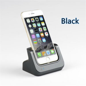 Charge Dock With Lightning Cable Connector For iPhone 6 7 8 11 XR Plus ICD01