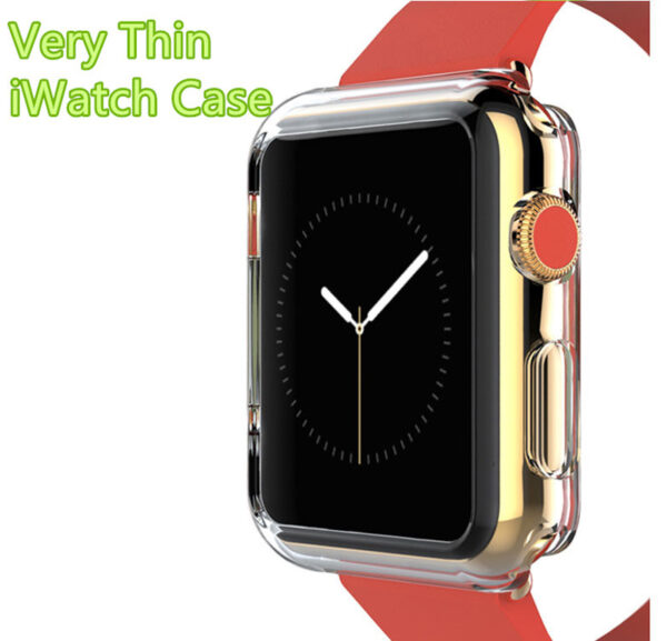 Cheap Protective Plastic Apple Sport Watch Case For 38 40 42 44 MM AWB05_2