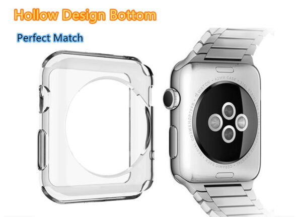 Cheap Protective Plastic Apple Sport Watch Case For 38 40 42 44 MM AWB05_5
