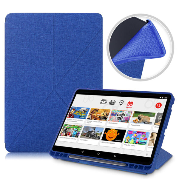 Cool Best Leather Samsung Galaxy Tab S7 And Plus Cover SGTC01_2