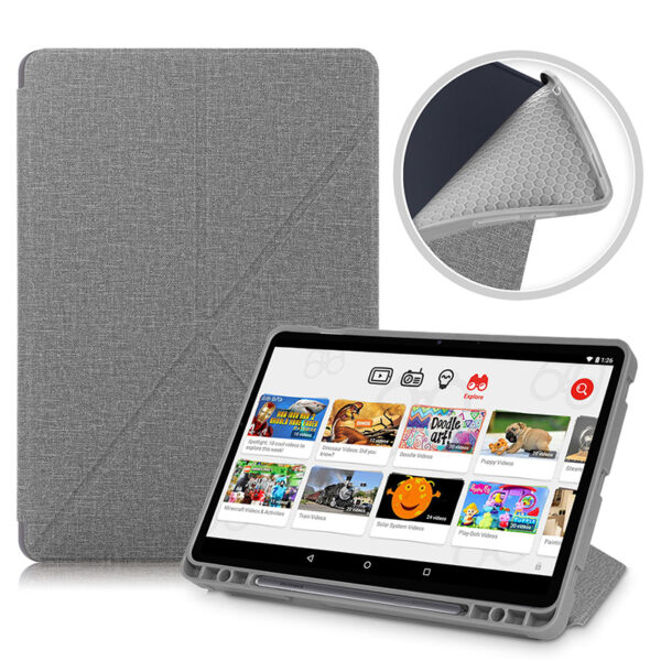Cool Best Leather Samsung Galaxy Tab S7 And Plus Cover SGTC01_3