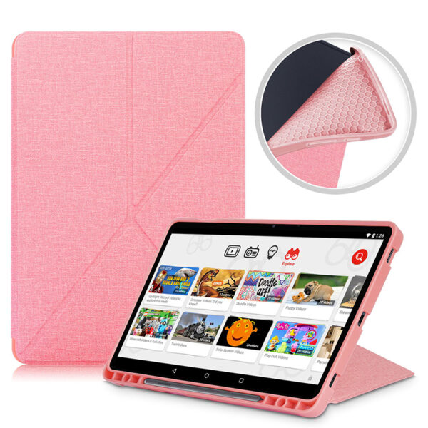 Cool Best Leather Samsung Galaxy Tab S7 And Plus Cover SGTC01_4