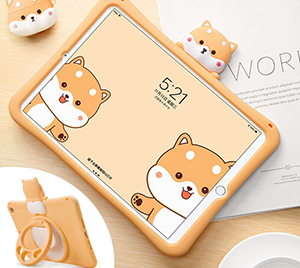 Cool Silicone iPad Pro New iPad Air Mini Cover For Kids IPFK04