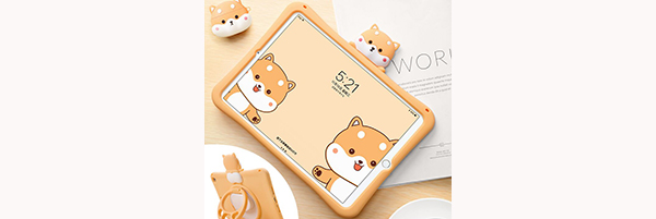 2018 Cool Silicone iPad Air And Air 2 Sleeve Cases For Kids IPFK04
