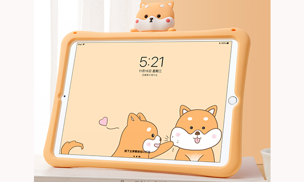 2019 Cool Silicone iPad Air And Air 2 Sleeve Cases For Kids IPFK04_2