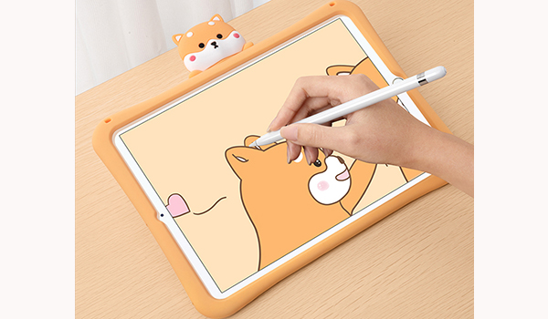 2018 Cool Silicone iPad Air And Air 2 Sleeve Cases For Kids IPFK04_6