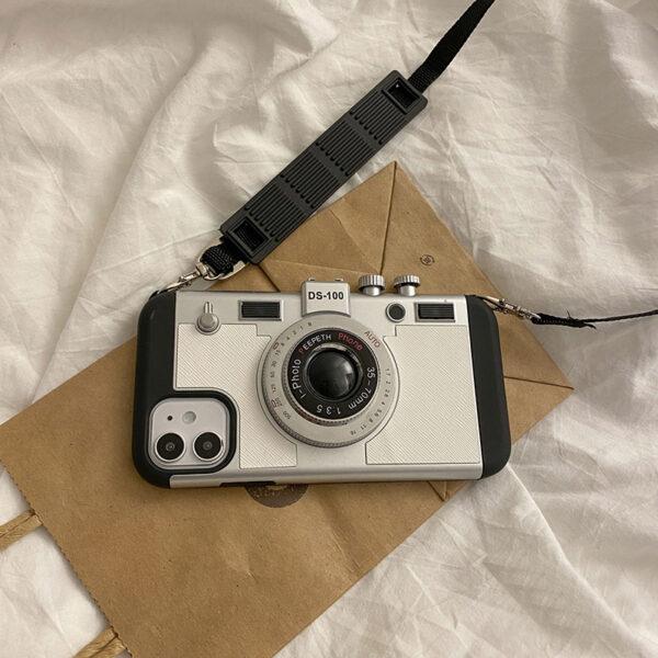 Creative Stereo Camera Case For iPhone 12 11 Mini Pro Max IPS621_2