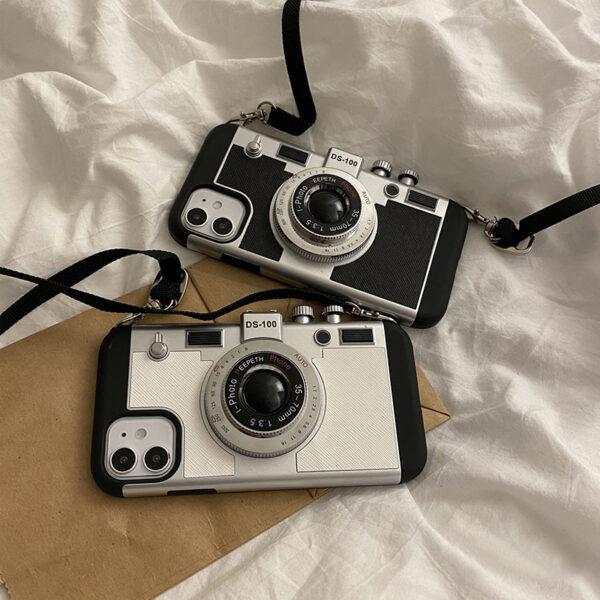 Creative Stereo Camera Case For iPhone 12 11 Mini Pro Max IPS621_3