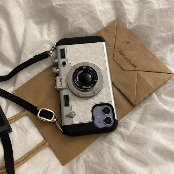 Creative Stereo Camera Case For iPhone 12 11 Mini Pro Max IPS621_5