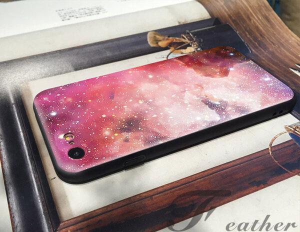 2019 Blue Starry Sky iPhone 8 7 6 6S Plus Plastic Case IPS621_6