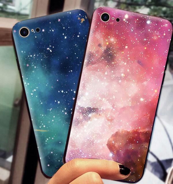 2019 Blue Starry Sky iPhone 8 7 6 6S Plus Plastic Case IPS621_7