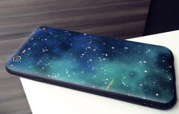 2019 Blue Starry Sky iPhone 8 7 6 6S Plus Plastic Case IPS621_8