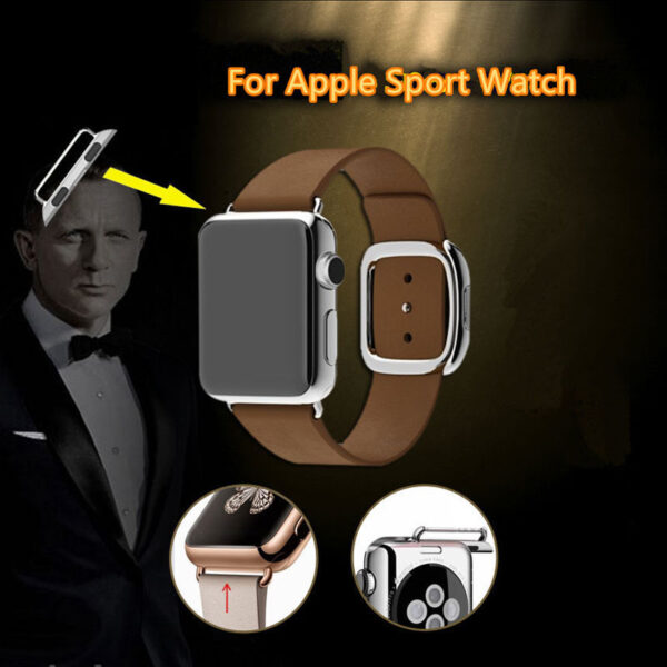 Aviation Aluminum Apple Watch Band Connector For 38 42 MM Sport Models AWB03