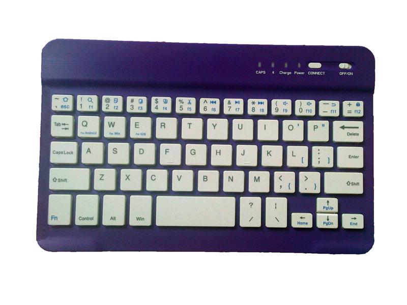 Bluetooth iPad Mini 3 2 keyboard With Leather Case For iPad Mini IPML02_6