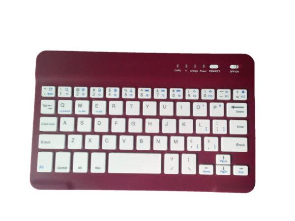 Bluetooth iPad Mini 3 2 keyboard With Leather Case For iPad Mini IPML02_8
