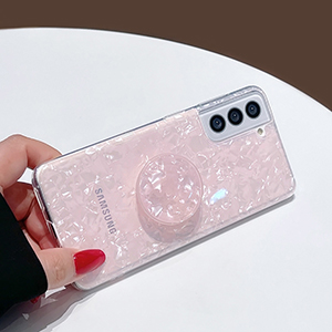 Gold Samsung Galaxy S6 And S6 Edge Plastic Cases Or Covers With Metal Frame SG612