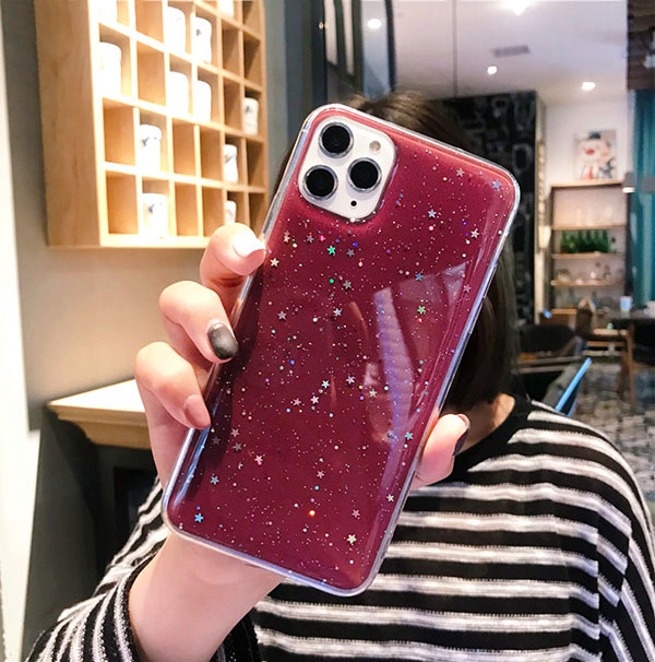 2018 Best Gold iPhone 8 7 6S And 6 Plus 5S SE Case Cover With Dazzling Diamond IPS623