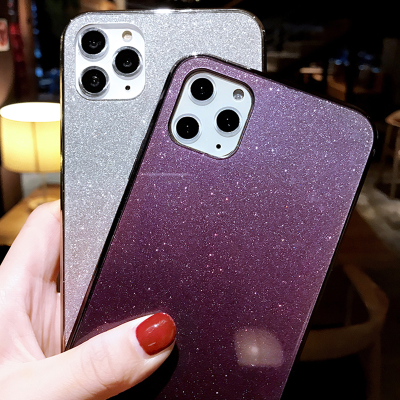 All-inclusive Glitter Silicone iPhone 11 X XS Pro Max XR 7 8 Plus Case IPS623_4