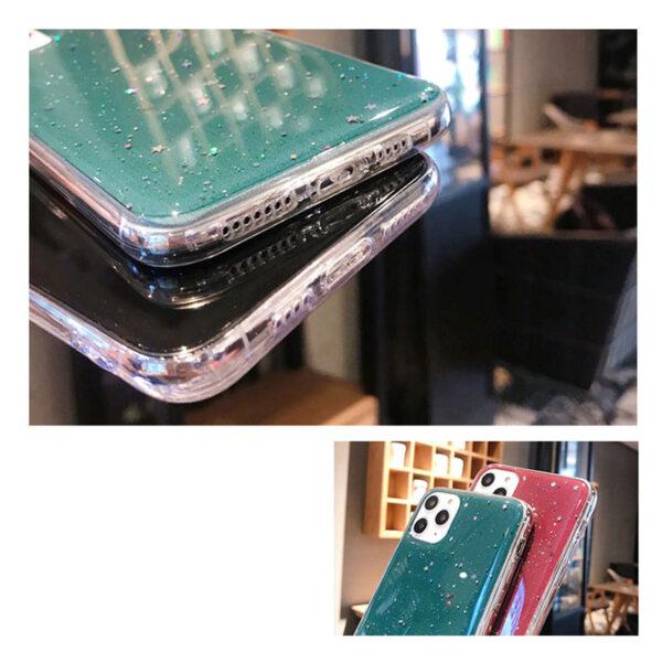 All-inclusive Glitter Silicone iPhone 11 X XS Pro Max XR 7 8 Plus Case IPS623_6