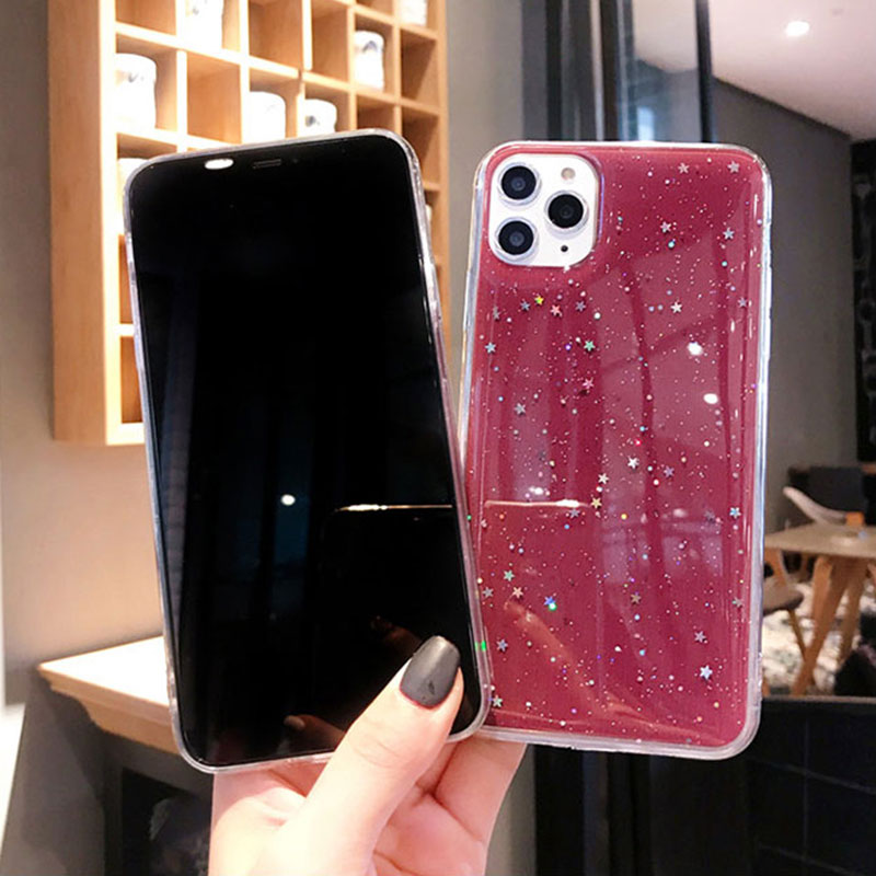 All-inclusive Glitter Silicone iPhone 11 X XS Pro Max XR 7 8 Plus Case IPS623_7