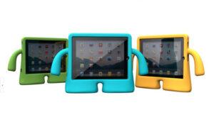 Protective Silicone iPad Air Mini Pro Case Cover For Children Kids IPFK05_5