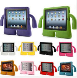Protective Silicone iPad Air Mini Pro Case Cover For Children Kids IPFK05_6