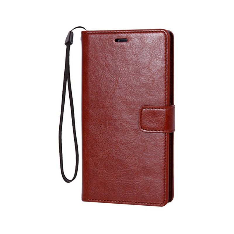 Protective Leather Clamshell Case For Samsung Note Edge N9150 With Card Slot SGNE03