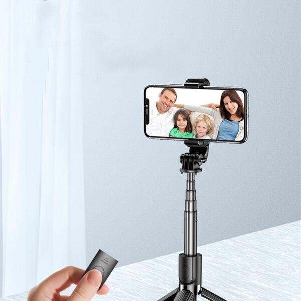 Alumium Alloy Selfie Stick For iPhone Samsung Google Phone Holder PHE01_4