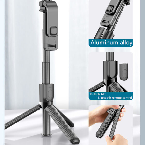 Alumium Alloy Selfie Stick For iPhone Samsung Google Phone Holder PHE01_5