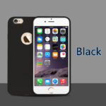 Cheap Black New Silicone iPhone 11 XS 8 7 6 And Plus Case Cover IPS624