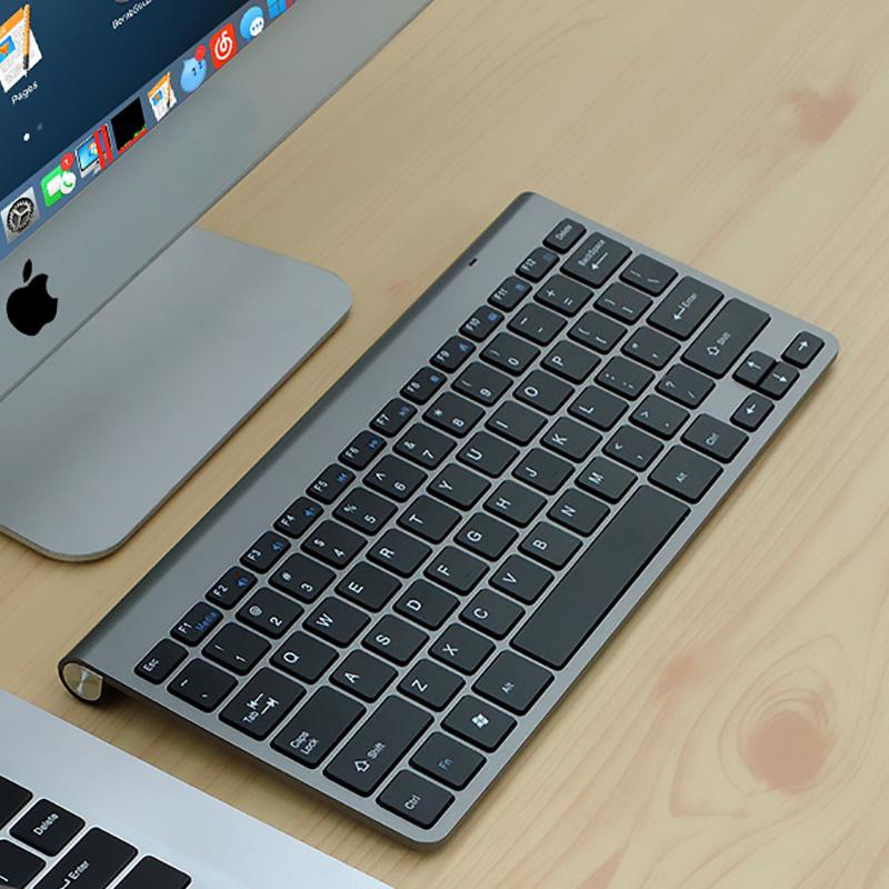 Cheap Bluetooth Silver iPad Air Mini Pro Surface Pro Keyboard IPK07_2