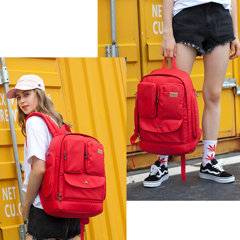 Multifunctional Backpack Puting Macbook iPad tech accessories For Students Travelers Business MFB01_5