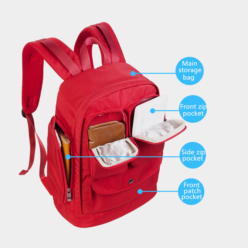 Multifunctional Backpack Puting Macbook iPad tech accessories For Students Travelers Business MFB01_6
