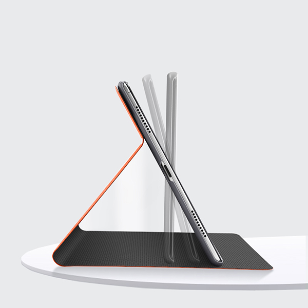 Best Protective Black Leather iPad Pro 11 inch Cover IPPC01_4