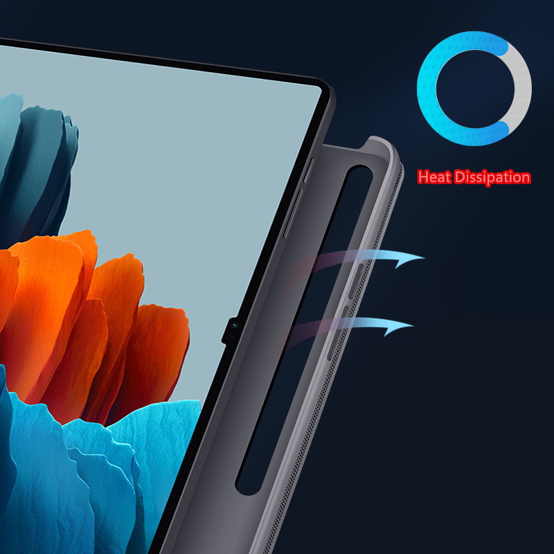 2019 Best Cheap Black Leather Breathable iPad Pro Case Cover IPPC01_5