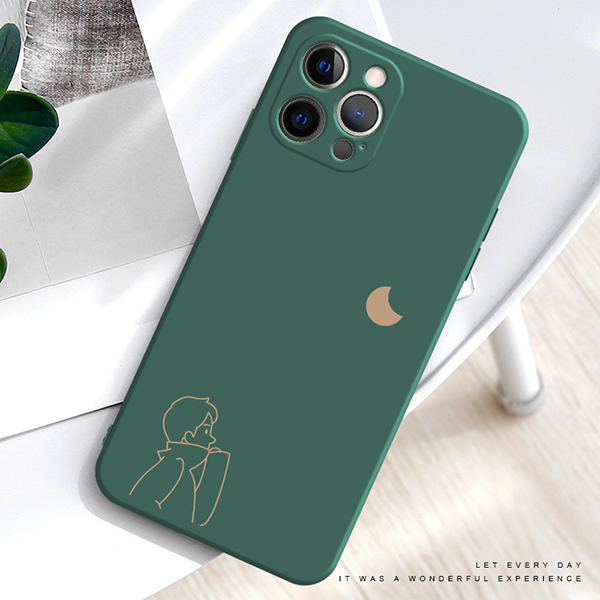 2019 Cute Cartoon Pattern Silicone Case Cover For iPhone 6 6S Plus IP6S02_2