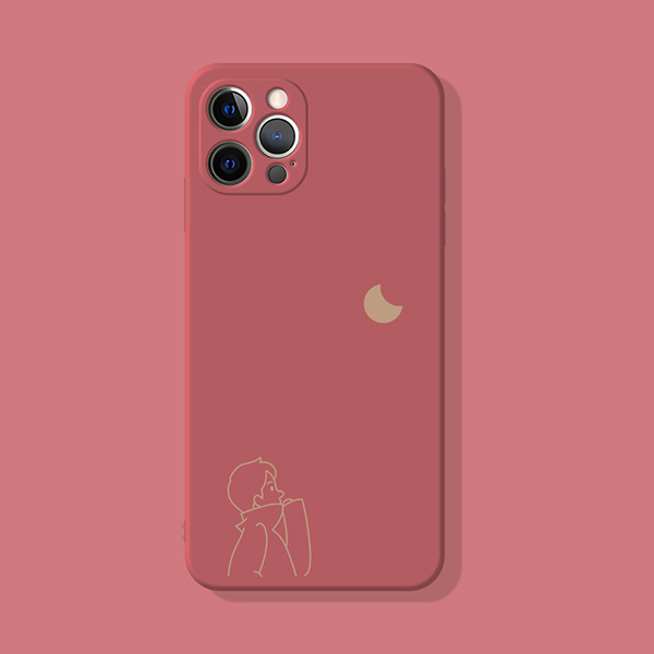 2019 Cute Cartoon Pattern Silicone Case Cover For iPhone 6 6S Plus IP6S02_3