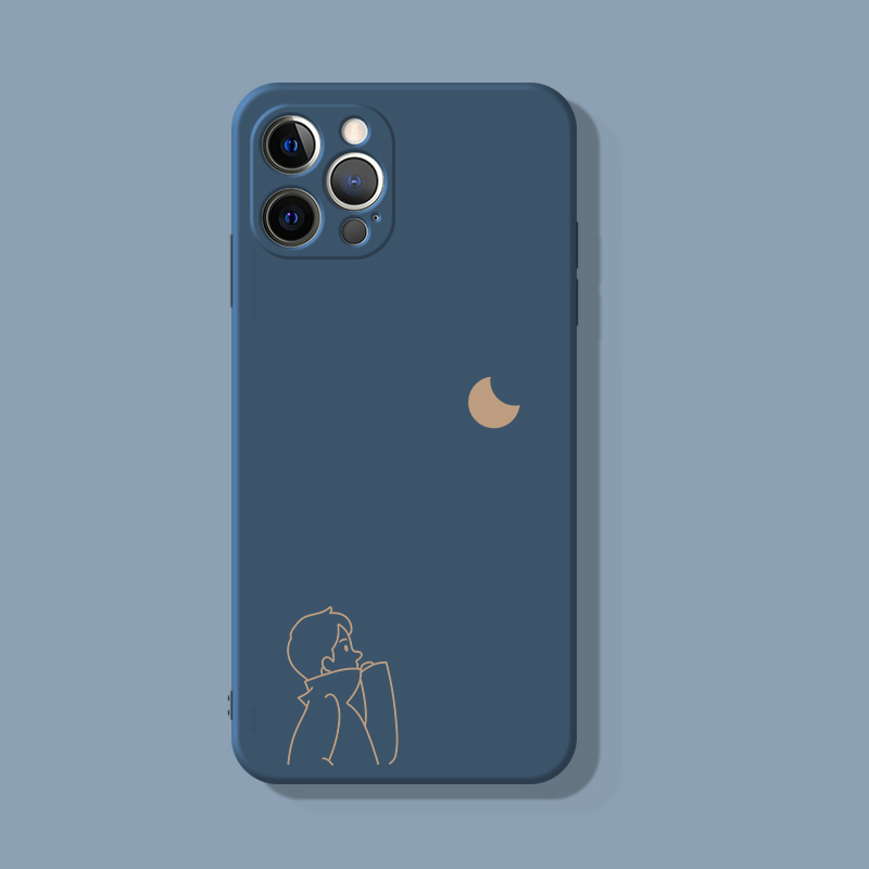 2019 Cute Cartoon Pattern Silicone Case Cover For iPhone 6 6S Plus IP6S02_6