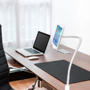 Best Long Arms Flexible Tablet Phone Holder iPad Stand For Bed Desk IPS02_3