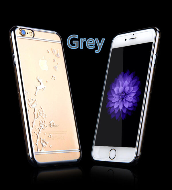Best Pink Silicone Cases Or Covers With Metal Frame For iPhone 6S And 6S Plus IP6S04_2