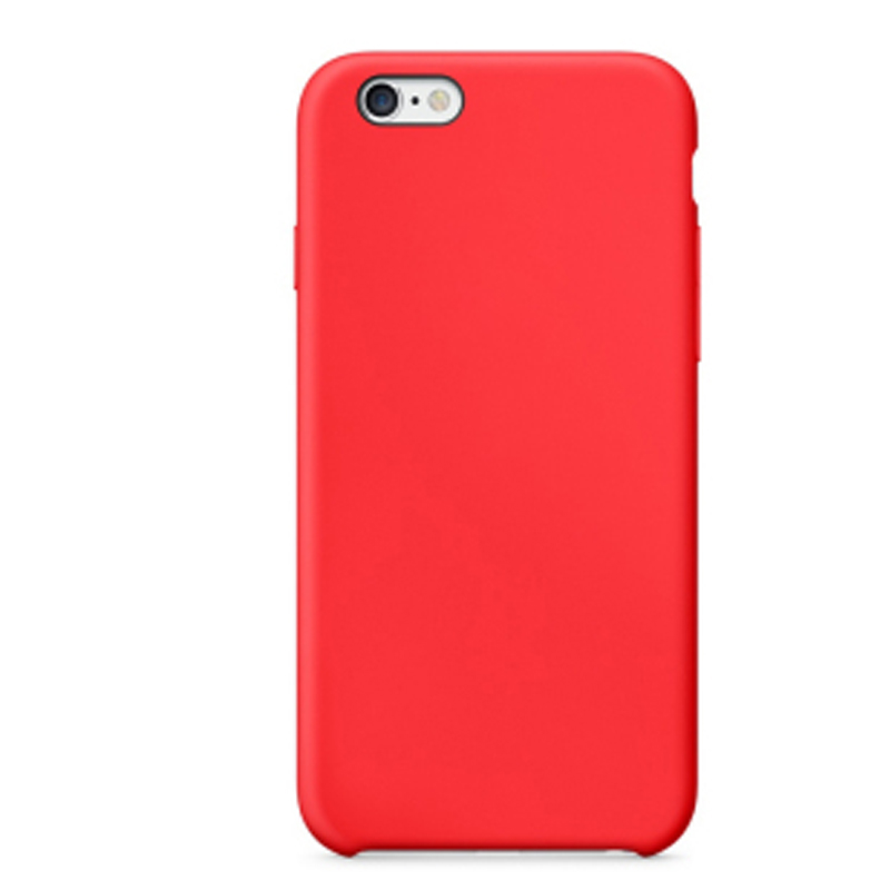 Perfect Red Silicone Protective Cases Or Covers For iPhone 6S 6 Plus IP6S03_3