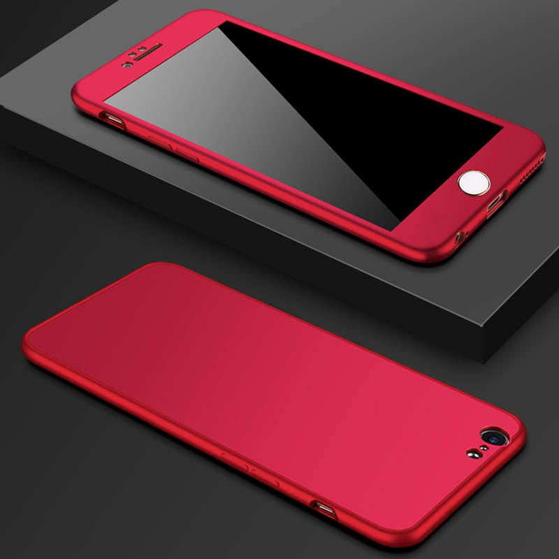 All-inclusive Anti-fall Silicone Case Cover For iPhone 6 7 8 And Plus IPS626_2