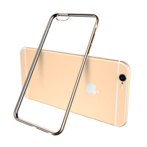 Cheap Gold iPhone 6 7 8 And Plus Silicone Case IP6S05